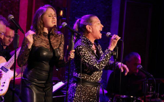 Blair Goldberg and Adina Alexander performing at 54 Below