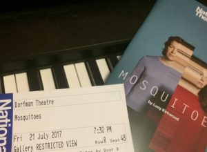 Review of 'Mosquitoes' at the National Theatre